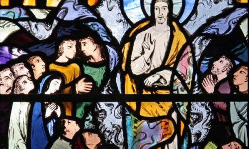 Църквата – от Възнесение към Петдесетница